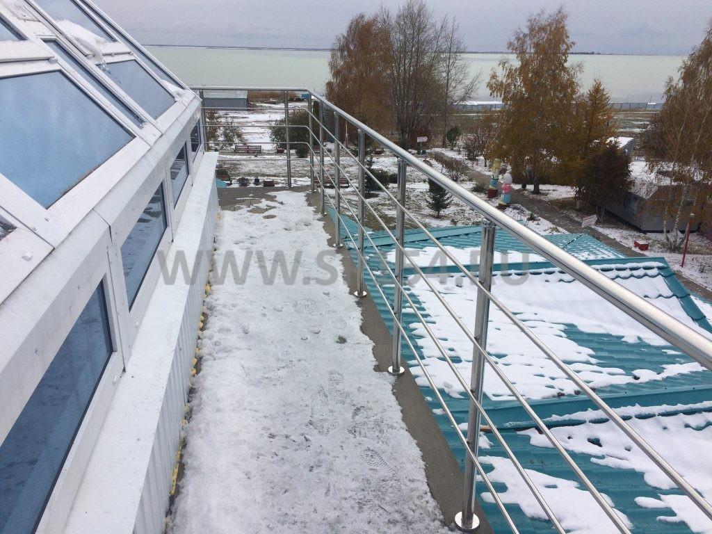 Бухта Лазурная - Лестницы и перила из нержавеющей стали