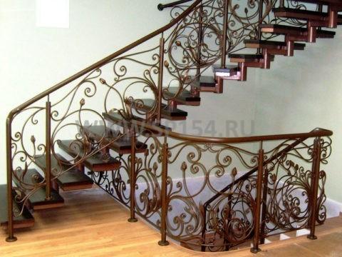 """Вертикальные лестницы П1 и П2 - технология изготовления и монтажа - Современные Перила """"СП"""""""