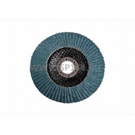 Круг лепестковый торцевой 125*22 ZK P60