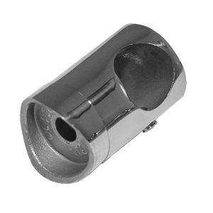 Ригеледержатель для стойки 38,1 отв. 16 мм