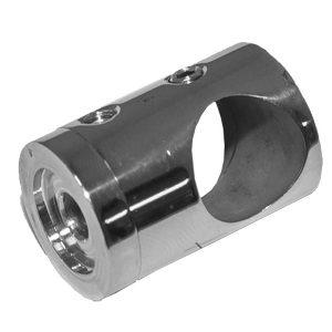 Ригеледержатель отв. 16 мм к плоскости